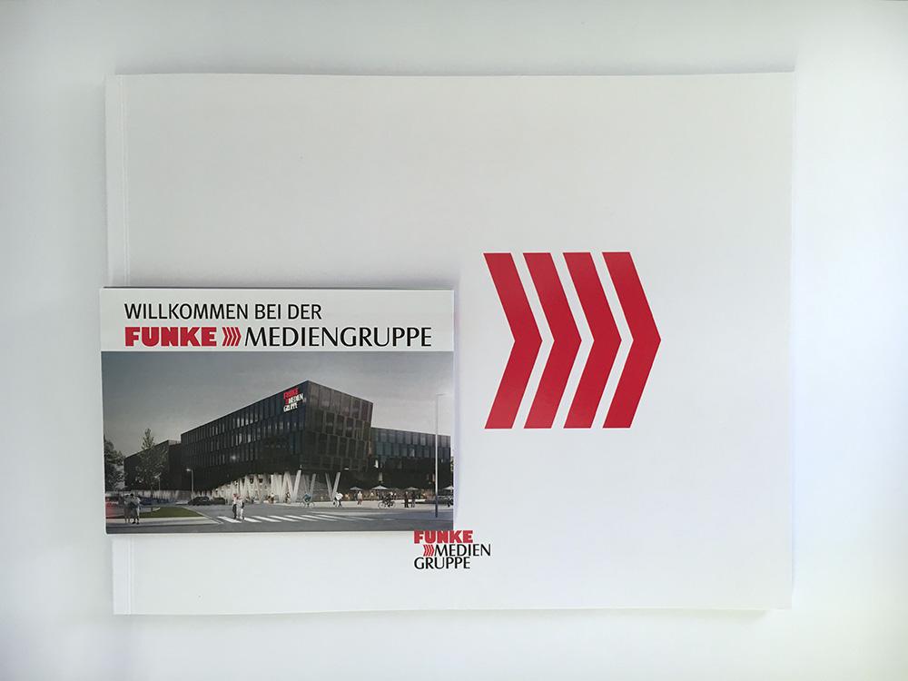 Imagebroschüre und Onboard-Flyer I Funke Mediengruppe