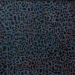 Tokyo 2005  Acryl/Pigment auf Hartfaserplatte 25 X 25 cm
