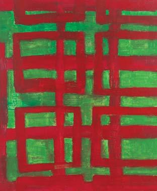 Ordnung 2003  Acryl auf Leinwand 60 x 50 cm
