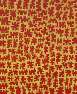2006 Tokyo  Acryl und Pigment auf Hartfaserplatte 60 x 50 cm