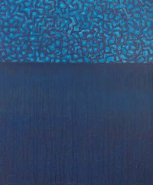 Horizont 2002  Acryl auf Leinwand 60 x 50 cm