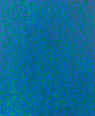 Traumhaft 2003  Acryl auf Leinwand 60 x 50 cm