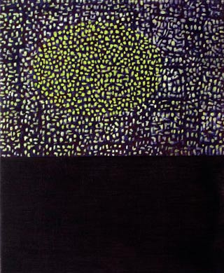 Lichterglanz 2009  Acryl auf Leinen 60 x 50 cm