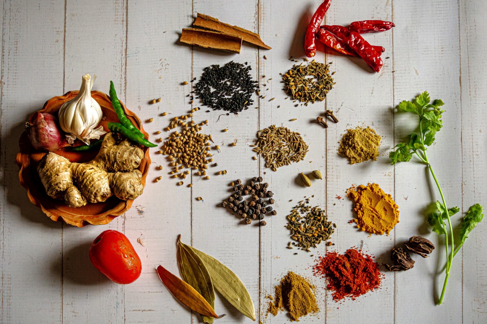 Kruiden en specerijen voor iedere maaltijd