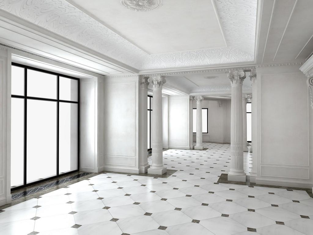 Визуализация главного зала