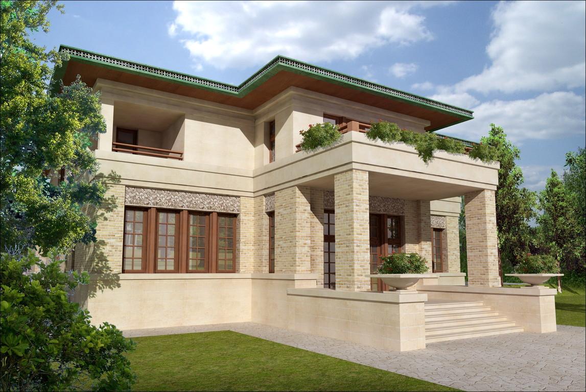 Визуализация фасада.