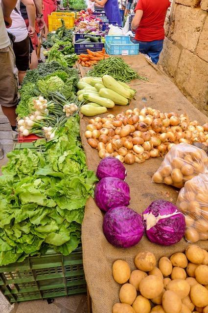 Markttag (Foto: Ulrike Parnow)