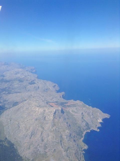 Anflug auf Mallorca