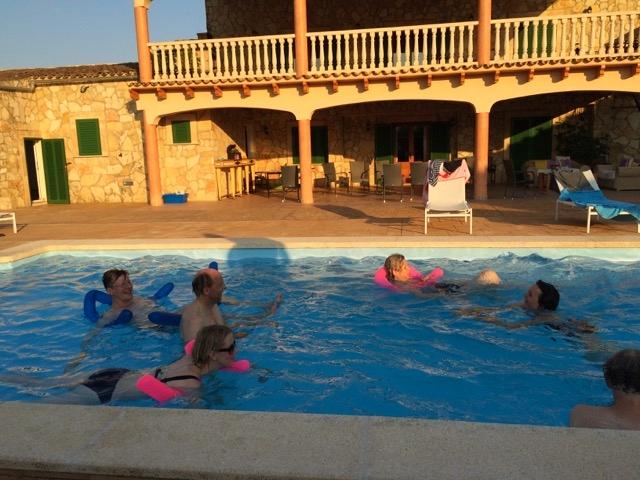 Finca und Pool