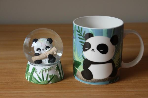 Panda schuddebol  Panda Mok