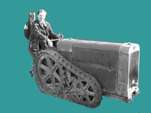 """Avatar du forum """"Tracteurs et Motoculteurs d'Antan"""", Marc et son tracteur G.Vidal"""