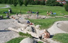 Ausflug zum Wasserspielpaltz Köngisbrunn mit: Emi, Kimorah, Sonja, Florian und Fabian