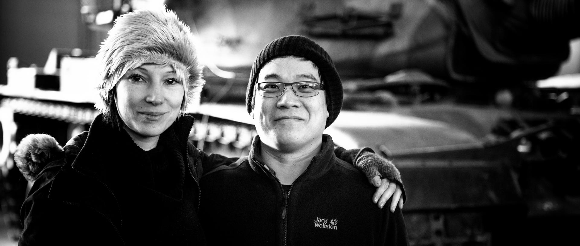 mit Komponisten & Sounddesigner Richi  Lauw