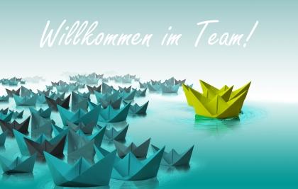 Die Roos GmbH heißt ihre neuen Auszubildenden willkommen
