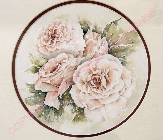 """"""" Bouquet de roses """"         36 x 36"""