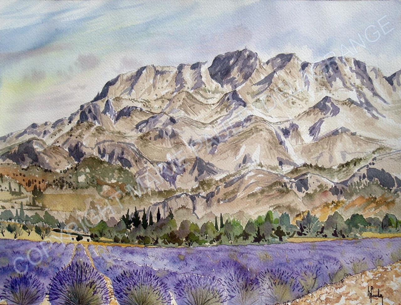 """"""" Montagne sainte Victoire """""""