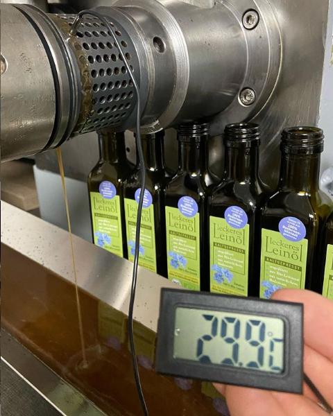 Was bedeutet gutes kaltgepresstes Leinöl für uns?