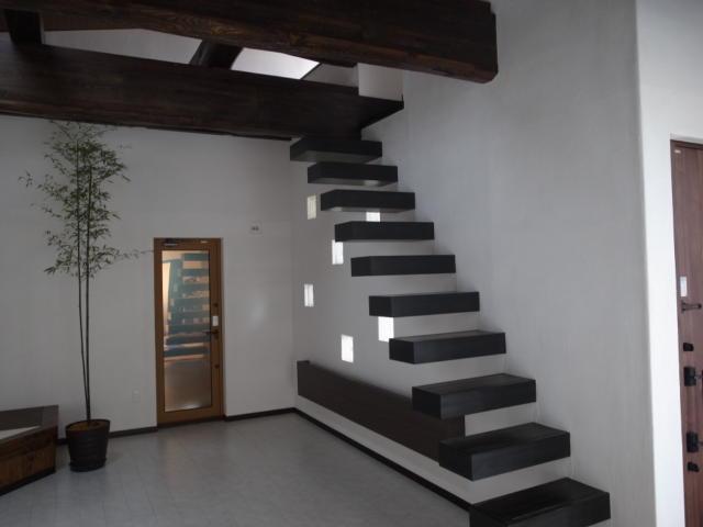 斬新な階段