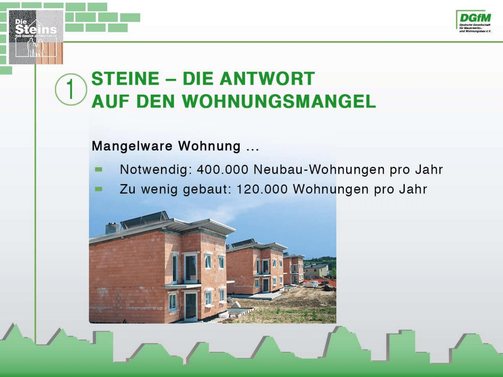 Massivhaus Metzger setzt auf Stein