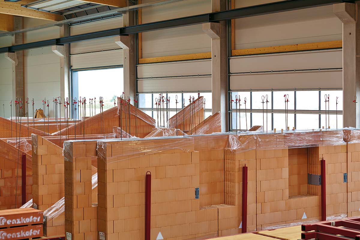 Metzgerhaus - Bauen mit Redbloc