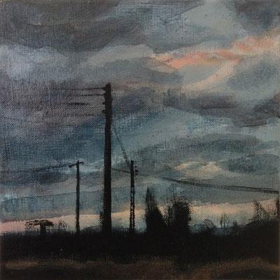 Claude Francheteau - peinture - 20x20- 2014