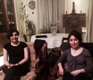 Guereh créatrices : Nassim et Bahareh