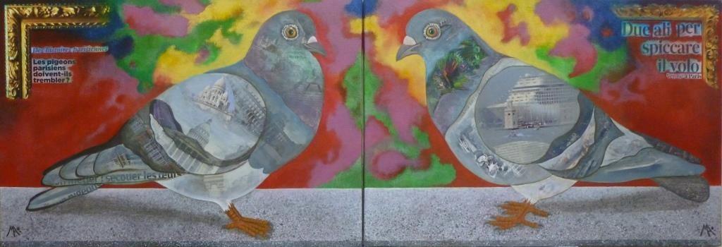 Marina Argentini - les deux pigeons