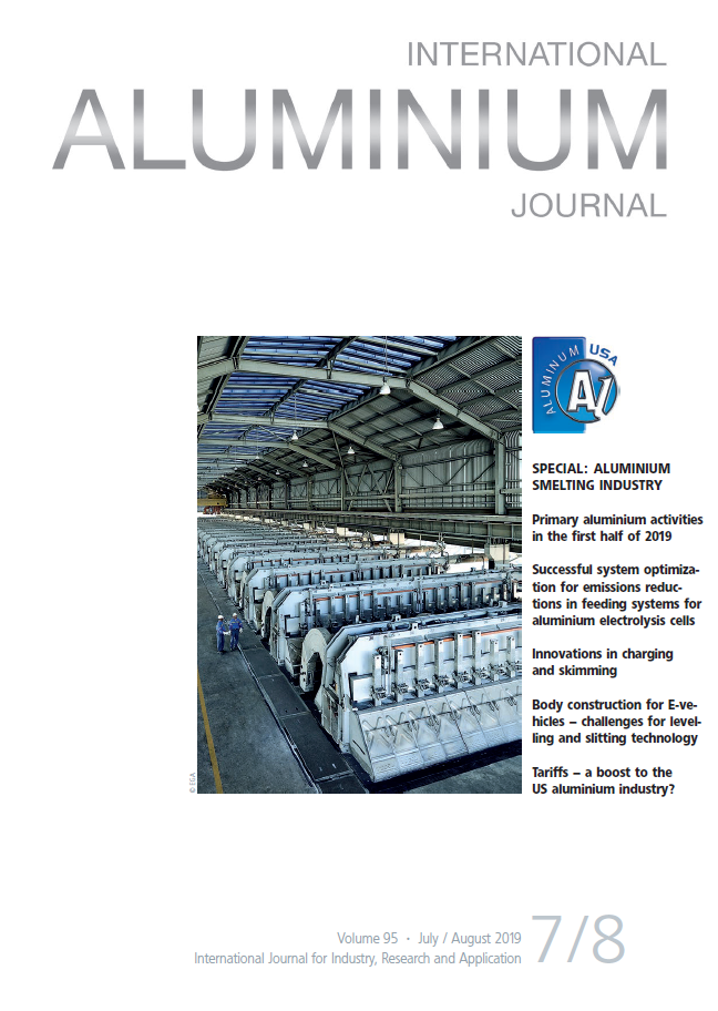 Technology development & operational support in aluminium