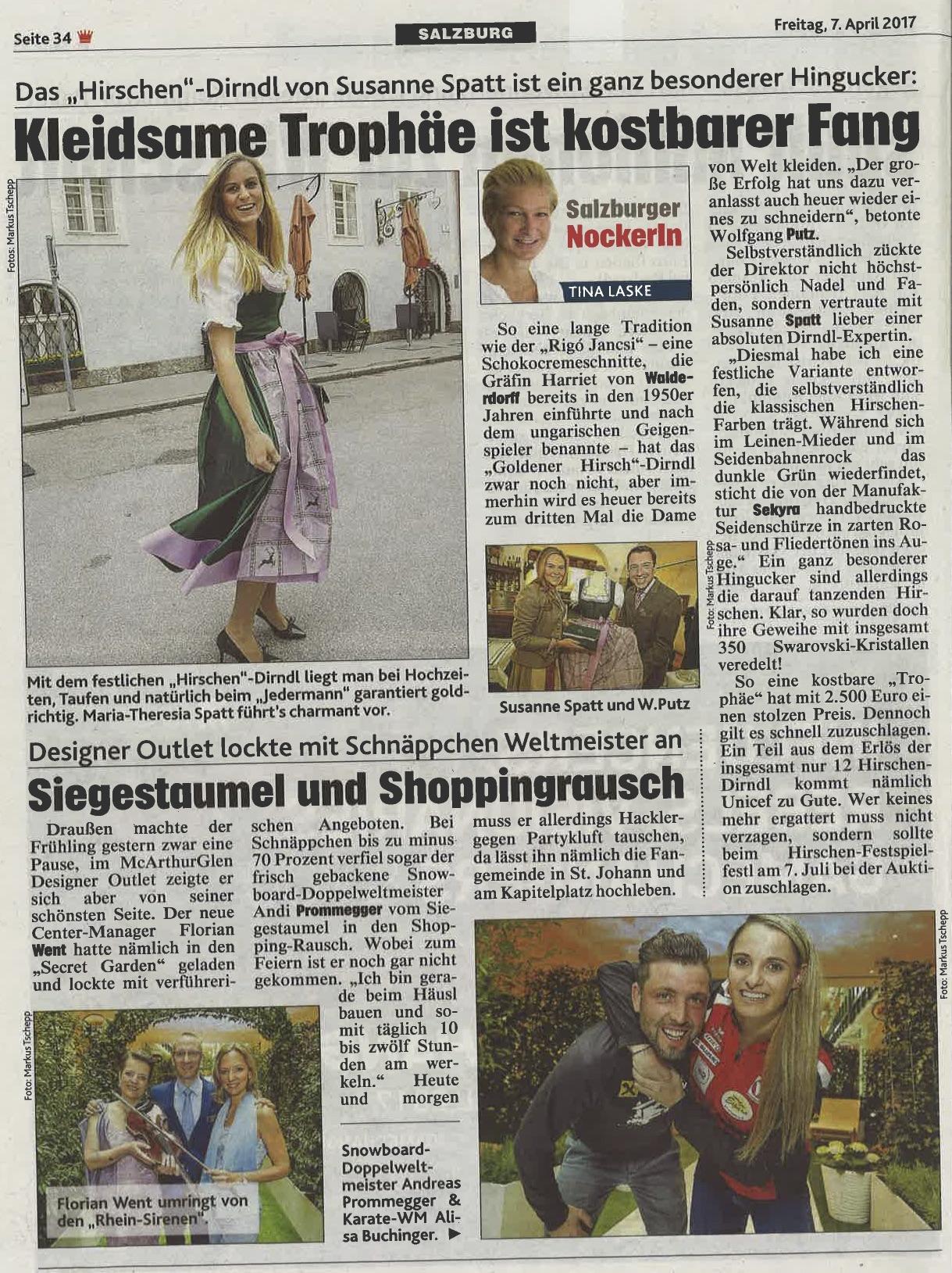 Kronen Zeitung, 7. April 2017