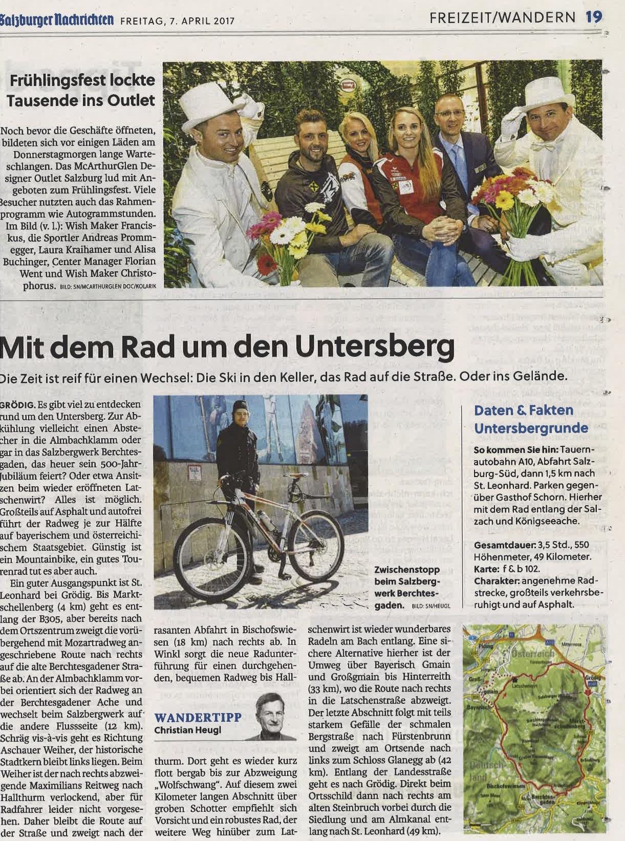 Salzburger Nachrichten, 7. April 2017