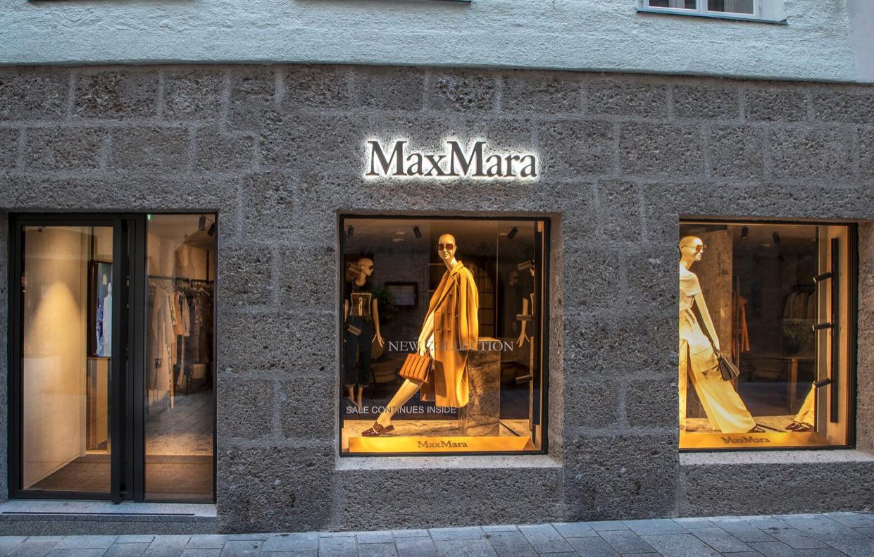 Neu in Salzburg: Max Mara eröffnet ersten Flagship-Store