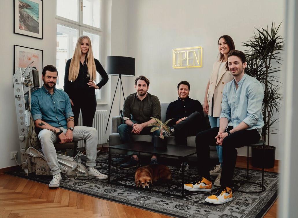 Team Creative Tactics v.l.n.r.: Klaus Laimer, Verena Laimer, Benjamin Dengg, David Wedenig, Nina Wrodnigg-Langwallner, Patrick Langwallner