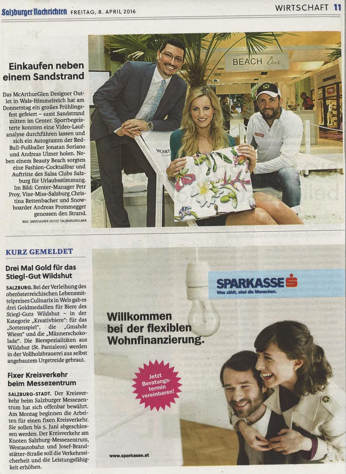 Salzburger Nachrichten, 08. April 2016