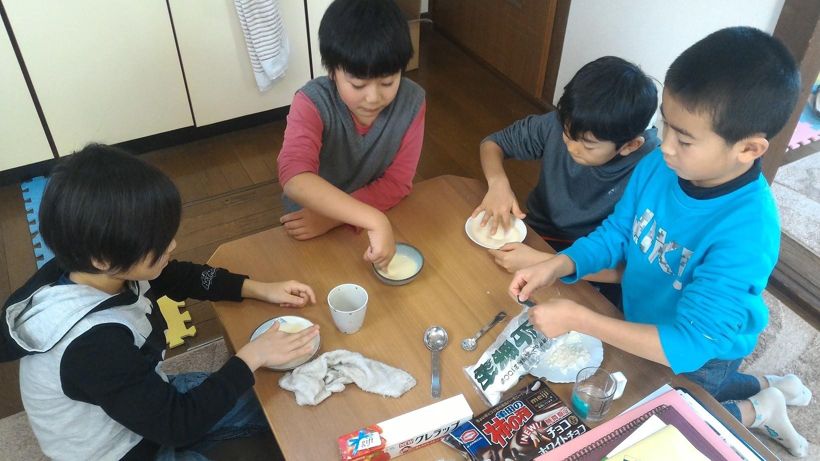 「のび餅」作りに挑戦!