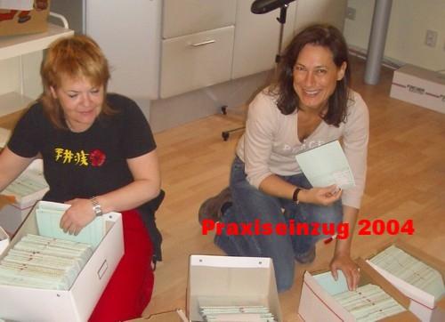 Praxis Dr. Fiddike - Mitarbeiterinen (historisch) - 2004