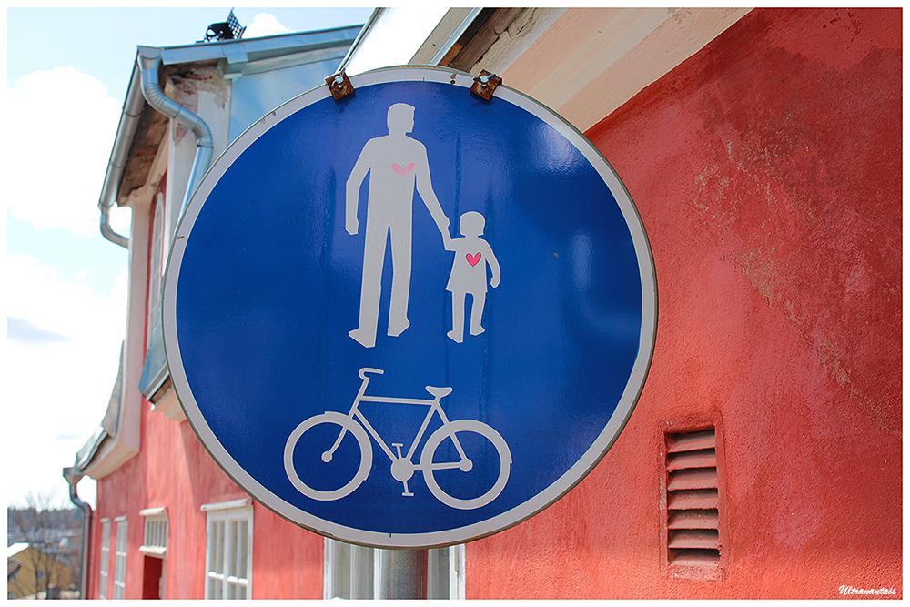 Panneau à Porvoo - Finlande  - Catégorie Inclassables
