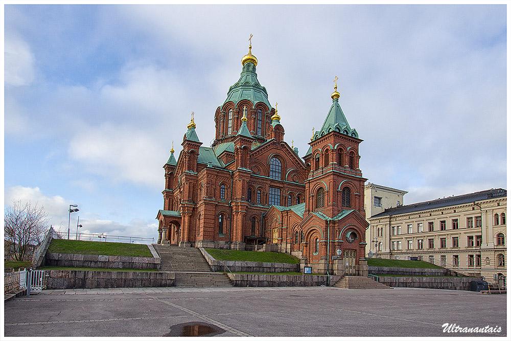 Cathédrale Ouspenski - Helsinki (Finlande) - Catégorie Paysages urbain et nature
