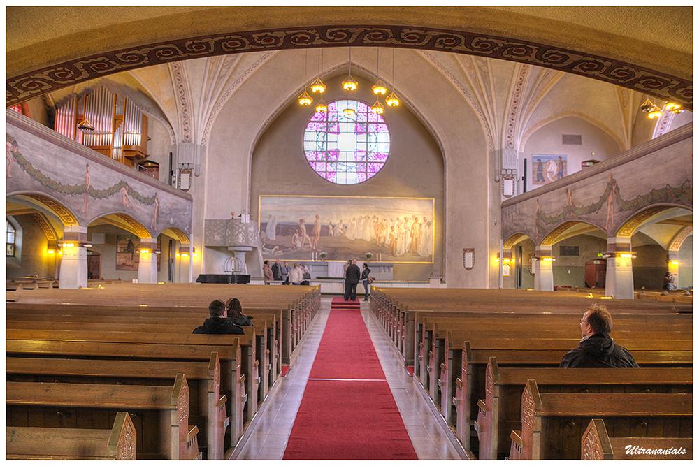 Eglise de Tampere - Finlande - Catégorie HDR