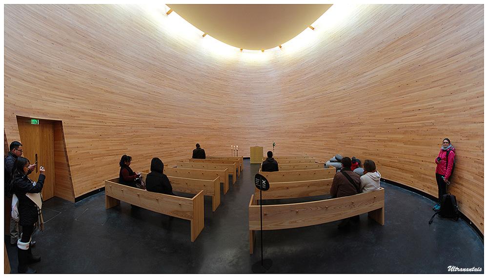 Chapelle du Silence - Helsinki (Finlande) - Caégorie Panorama