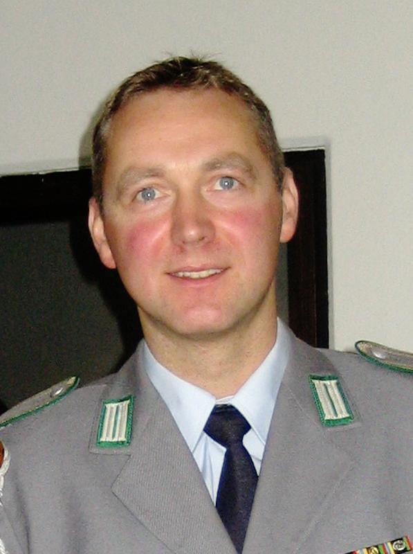 Das Bild zeigt den stellvertretenden Vorsitzenden Ronny Mirtschink.