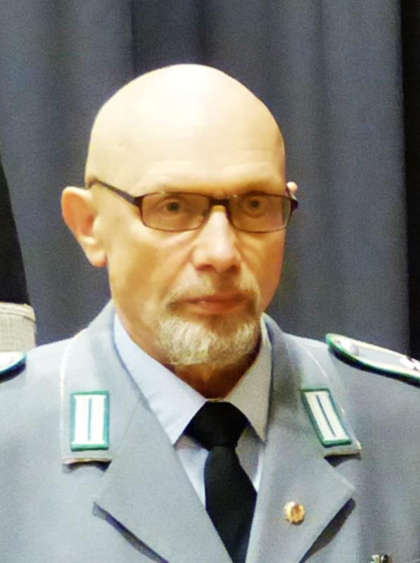 Das Bild zeigt den Beisitzer Rainer Weiß.