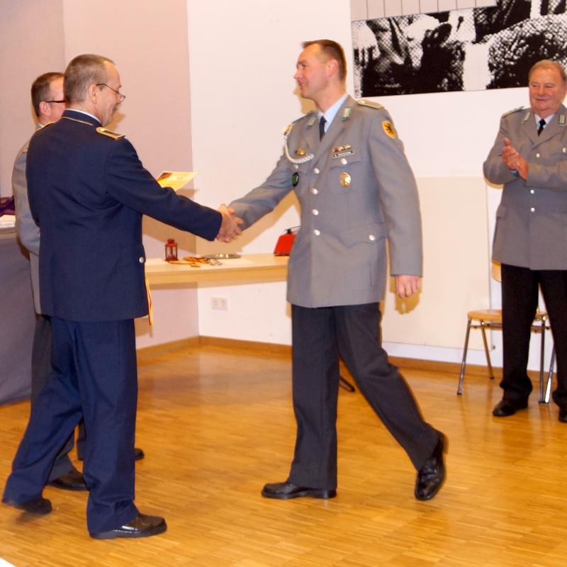 Den zweiten Rang beim Schießen um den Kanonenpokal war Ronny Mirtschink erfolgreich.