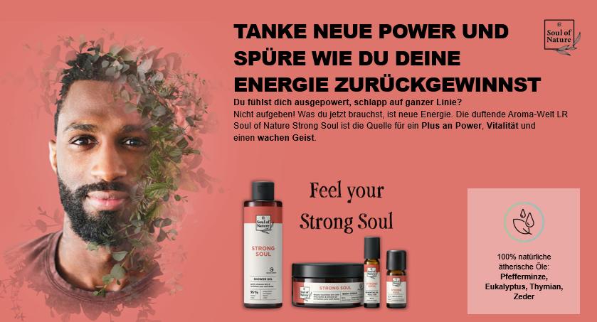 Strong Soul - Energetische Vitalität
