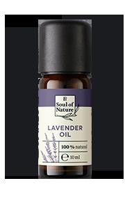 LAVENDEL-ÖL Der blumige Duft des Lavendel-Öls sorgt für Entspannung.