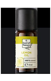ZITRONEN-ÖL Der spritzige Duft der Zitrone wirkt aktivierend und erfrischend.