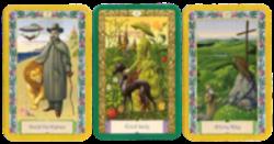 Mystische Kipperkarten