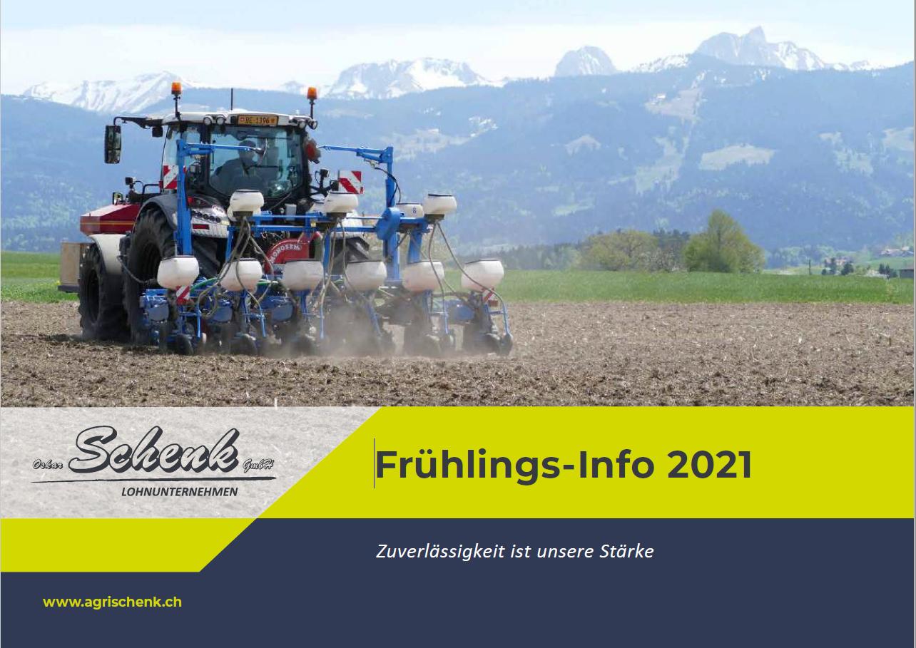Frühlings-Info 2021