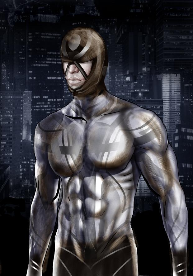 Super hero, a study