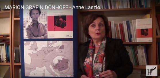Vidéo Marion Grafin Dönhoff - Anne Laszlo (source L'Harmattan)