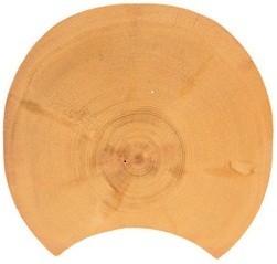 Rustikale Rundbohle 230 mm